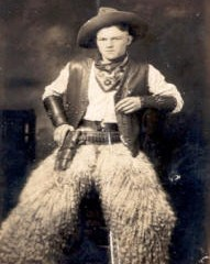 A Cowboy in Wooly Chaps