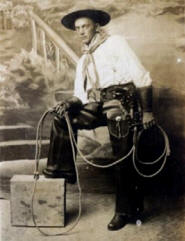 A Young Cowboy Poses 02