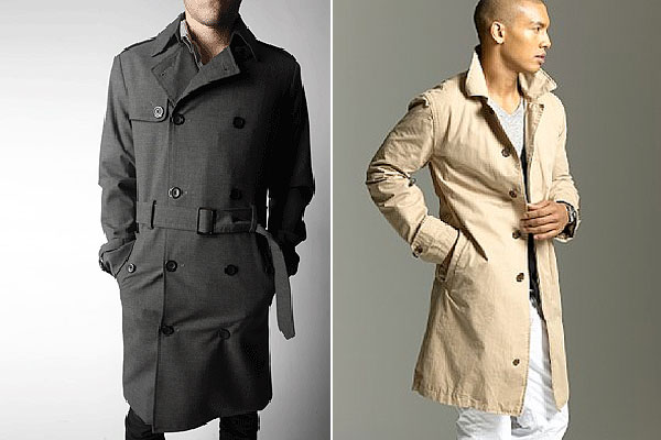 Collection Trench Coat Mens Pictures - Reikian